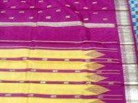 Plain Cotton Saree