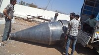 Cyclone And Ducting For Cattle Feed Plant