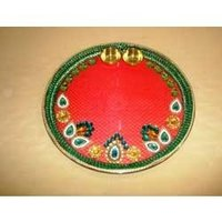 Decorative Pooja Dish Big