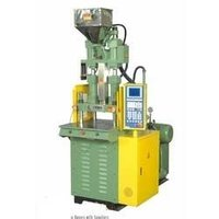 Vertical Screw Type And Clamping Injection Moulding Machine