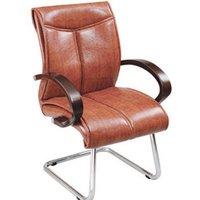 Wooden Arm Office Visitor Chair