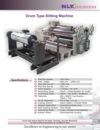 Drum Type Slitting Machine