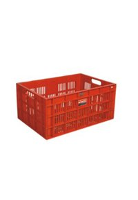 Crack Resistant Plastic Crate (Model 2064)