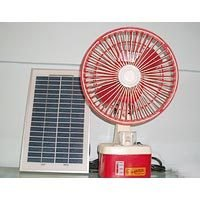 ABS Plastic Solar DC Fan