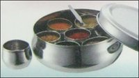Stainless Steel Heavy Masala Dabba