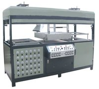 Double Heads Vacuum Forming Machine