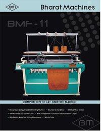 Semi Computerized Flat Knitting Machine