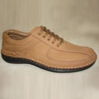Men Party Wear Brown Color Shoe
