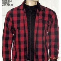 Men Trendy Cotton Shirt