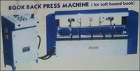 Book Back Press Machine