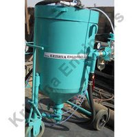 Sand Shot Blasting Machine