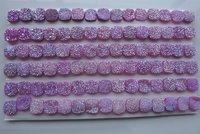 Pink Drusy Gemstones