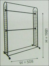 Double Arch Grid Stand