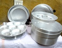 Aluminium Multipurpose Idli Pot