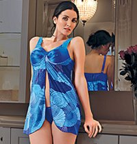 Satin Stylish Nighty