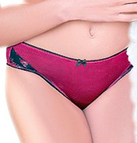 Ladies Red Panty