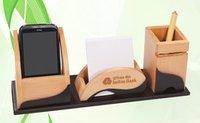 Desktop Wooden Pen Stand