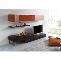 Wooden TV Showcase Unit