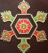 Acrylic Rangoli (SIDD-AR0018)