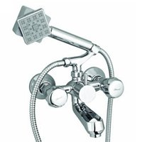 Telephonic Wall Mixer with Hand Shower (Continental)