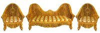 Intricately Hand Carved Luxury Sofa