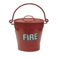 Fire Metal Bucket