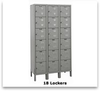 Commercial Lockers Almirah