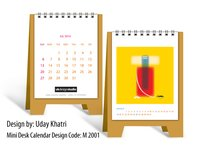 Ganesha Mini Desk Calendar