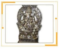 Metal Crafted Ganesh Ji Sculpture