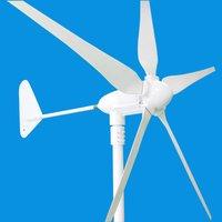 600W Wind Turbine Generator 12/24V AC 5 Blades