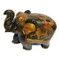 Designer Wooden Elephant Statues