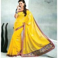 Trendy Yellow Sarees