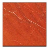 Fire Red Italian Marbles