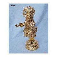 God Krishna Metal Statues