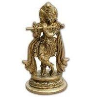 Stylish Krishna Metal Statue