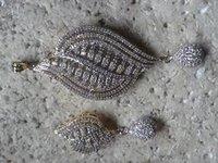 Diamond Pendant Set-P8