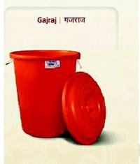 Industrial Red Color Plastic Bucket