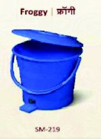 Blue Color Dustbin