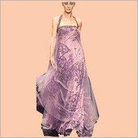 Hand Printed Ladies Dress