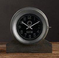 Navy Deck Clock