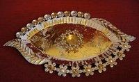 Diwali Gift Metal Platter