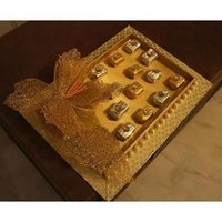 Golden Chocolate Tray