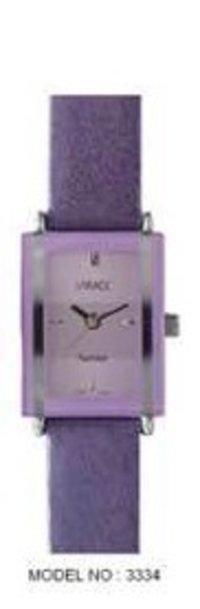 Girl Leather Strap Wrist Watch