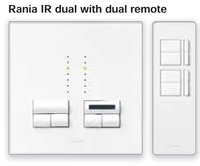 IR Dual With Dual Remote Dimmer