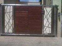 Steel Home Front Gates