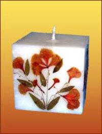Cube Shape Candles