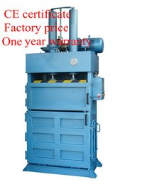 Coir Fiber Compressing Baling Machine