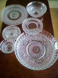Crystal Glass Dinner Set