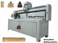 CNC Round Wood Carving Machine