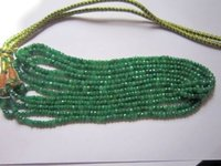 Emerald 6 Line Strand Necklace